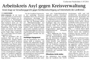 CN 110516 AK Asyl gegen Kreisverwaltung
