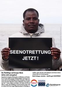 Plakat Seenotrettung